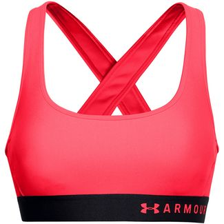 Under Armour Crossback Sport-BH Damen red