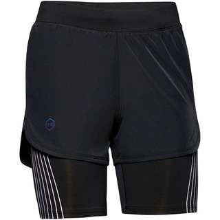 Under Armour Rush 2in1 Laufshorts Damen black