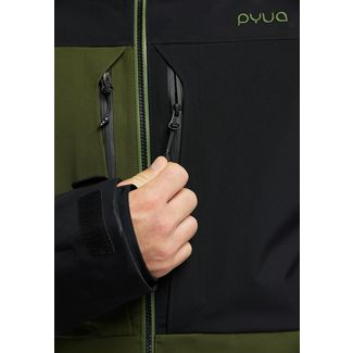 PYUA Source-Y Skijacke Herren black rifle green