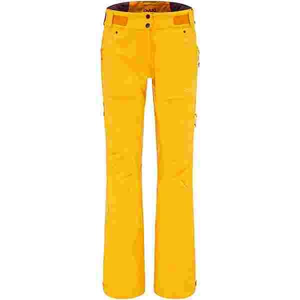 PYUA Release Skihose Damen pumpkin yellow
