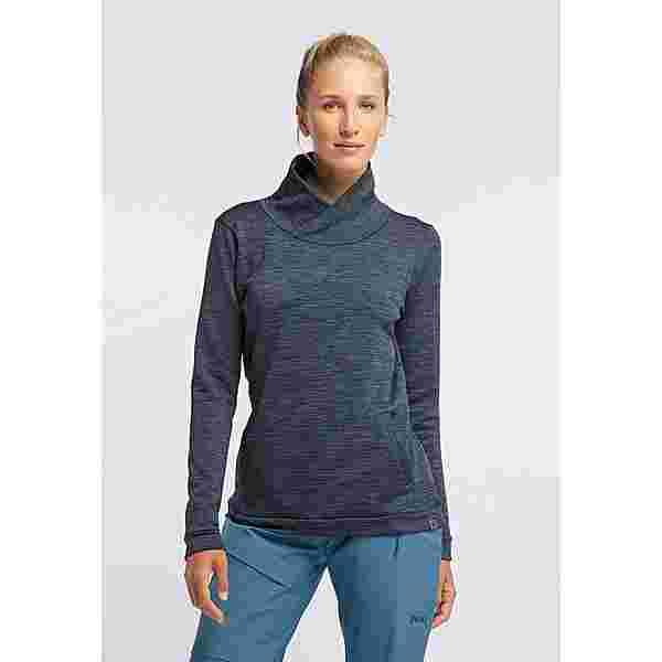 PYUA Bliss Funktionssweatshirt Damen navy blue