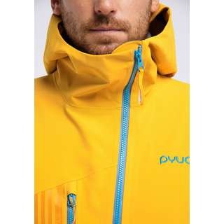PYUA Flight Skijacke Herren pumpkin yellow