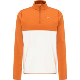 PYUA Spin Funktionssweatshirt Herren rusty orange foggy white