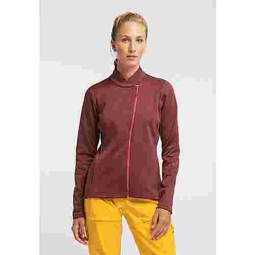 PYUA Appeal Funktionsjacke Damen mahogany red