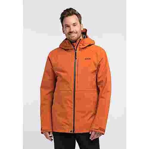 PYUA Excite Skijacke Herren rusty orange