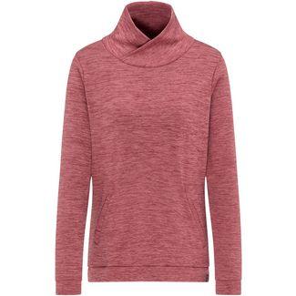 PYUA Bliss Funktionssweatshirt Damen mahogany red