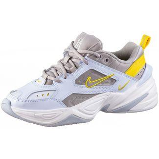 Nike M2K Tekno Sneaker Damen half blue-atmosphere grey-chrome yellow