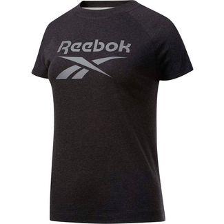 Reebok Texture T-Shirt Damen black melange