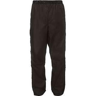 VAUDE FLUID FULL-ZIP II Regenhose Herren black