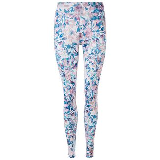 Endurance Forget-Me-Not Printed Tights Damen Print 9490