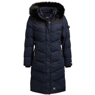 Khujo LUBECK LONG3 Steppmantel Damen navy