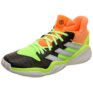 adidas Harden Stepback Basketballschuhe schwarz / neongrün