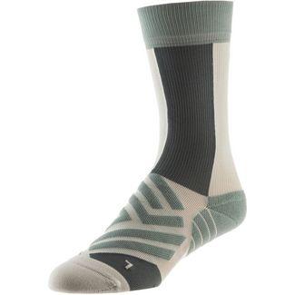 ON High Sock Laufsocken Damen mineral-white