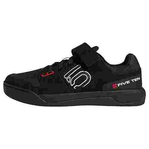 adidas Five Ten Mountain Bike Hellcat Schuh Fahrradschuhe Herren Core Black / Cloud White / Red