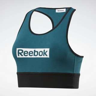 Reebok Training Essentials Linear Logo Bralette BH Damen Türkis