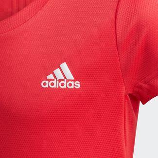 adidas T-Shirt Kinder Core Pink / White