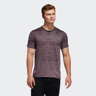 adidas T-Shirt Herren Legacy Purple Mel