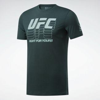 Reebok T-Shirt Herren Grün