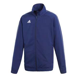adidas Core 18 Präsentationsjacke Outdoorjacke Kinder Dark Blue / White