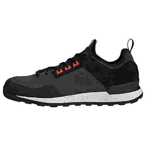 adidas Five Tennie Schuh Wanderschuhe Herren Night Cargo / Core Black / Active Orange