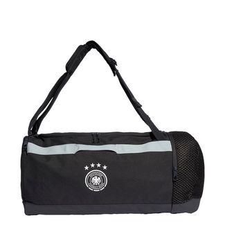 adidas DFB Duffelbag Sporttasche Herren Carbon / White