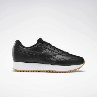 Reebok Sneaker Damen Black / White / Grey / Gum