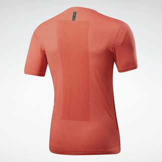Reebok Funktionsshirt Herren Vivid Orange / Legacy Red