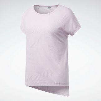 Reebok Yogashirt Damen Pixel Pink