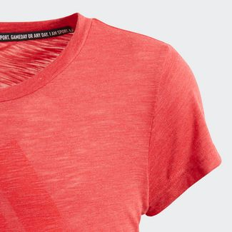 adidas T-Shirt Kinder Core Pink Mel
