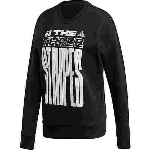 adidas Sweatshirt Damen black