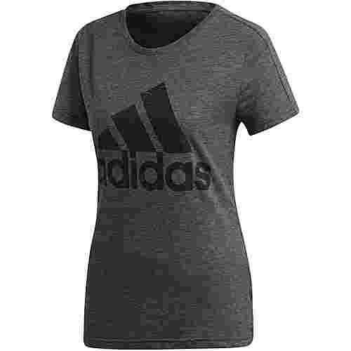 adidas Winners T-Shirt Damen black melange