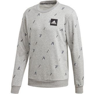 adidas GFX Sweatshirt Herren medium grey heather