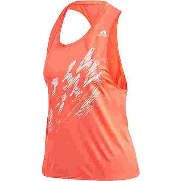 adidas Speed Funktionstank Damen solar red