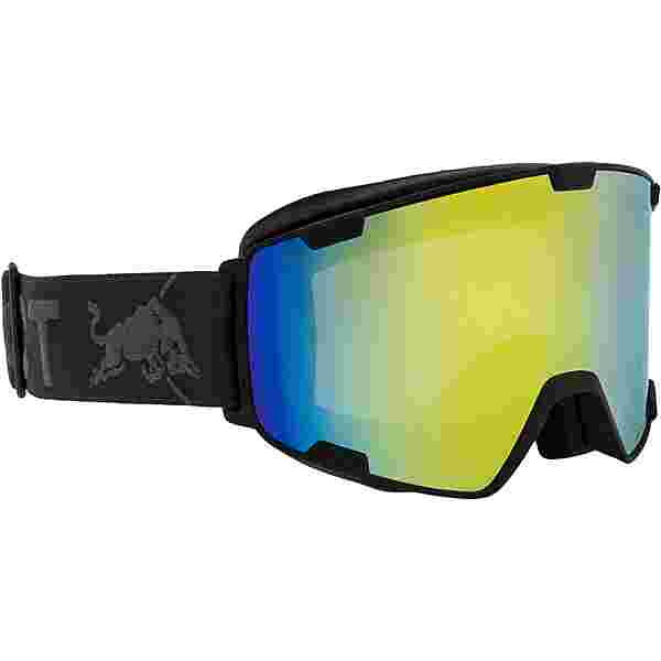 Red Bull Spect Park Skibrille black-yellow snow