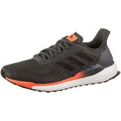 adidas Solarboost 19 Laufschuhe Herren grey six-core black-signal coral