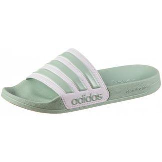 adidas Adilette Shower Badelatschen Damen green tint