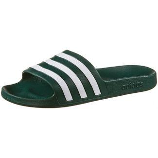 adidas Adilette Aqua Badelatschen collegiate green