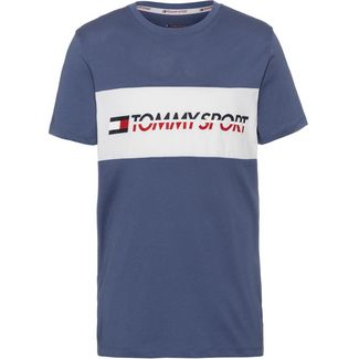 Tommy Sport T-Shirt Herren bijou blue