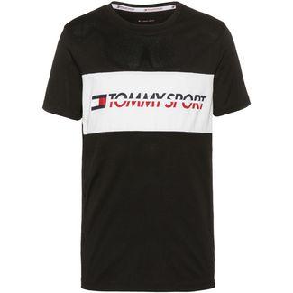 Tommy Sport T-Shirt Herren pvh black
