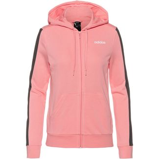 adidas Sweatjacke Damen glory pink-grey three