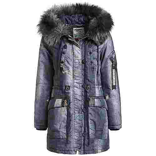 Khujo LORENE Winterjacke Damen blau denim