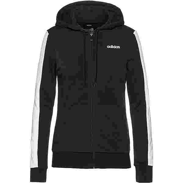 adidas Sweatjacke Damen black-white
