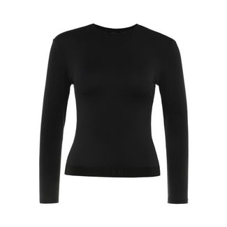 Daquini Run Long Sleeve Top T-Shirt Damen black