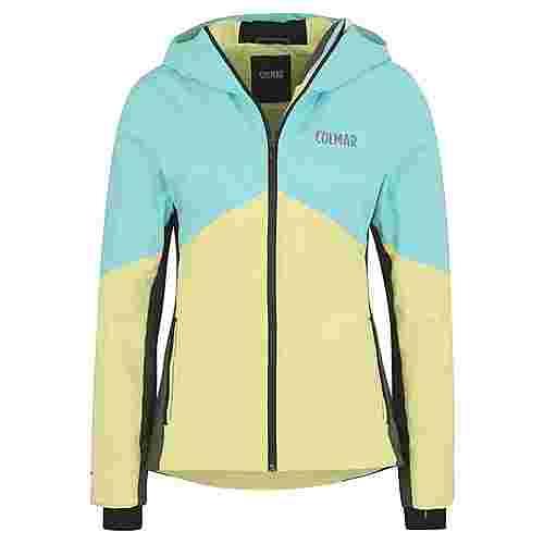 COLMAR Skijacke Outdoorjacke Damen gelb/aqua