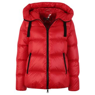 No.1 Como LINDA Daunenjacke Damen red