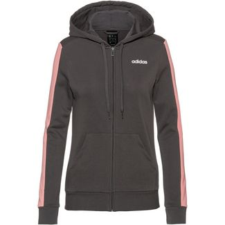 adidas Sweatjacke Damen grey five-glory pink