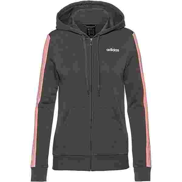 adidas Sweatjacke Damen grey five-glory pink