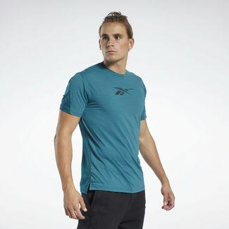Reebok ACTIVCHILL Move T-Shirt Funktionsshirt Herren Türkis