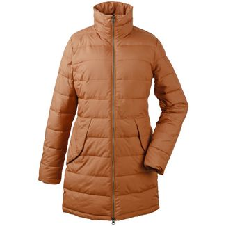 Didriksons 1913 Steppjacke Damen Toffee Brown