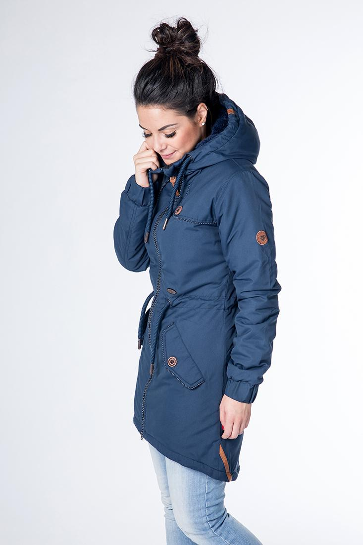 alife and kickin charlotte c winterjacke damen marine im online shop von sportscheck kaufen  bekleidung damen jacken c 1_7 #3